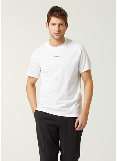 Sandro Sandro  Logo Detaylı T-shirt 101632893 Beyaz
